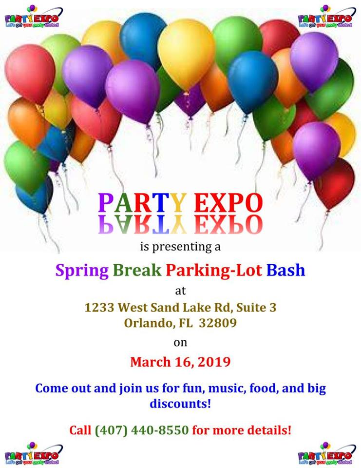 Party Expo Spring Break Parking Lot Bash