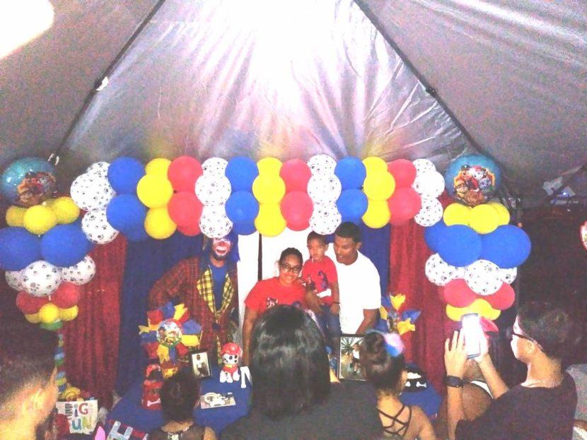 Payaso Pikorete y Muñequita Pompita en Brandon Fl