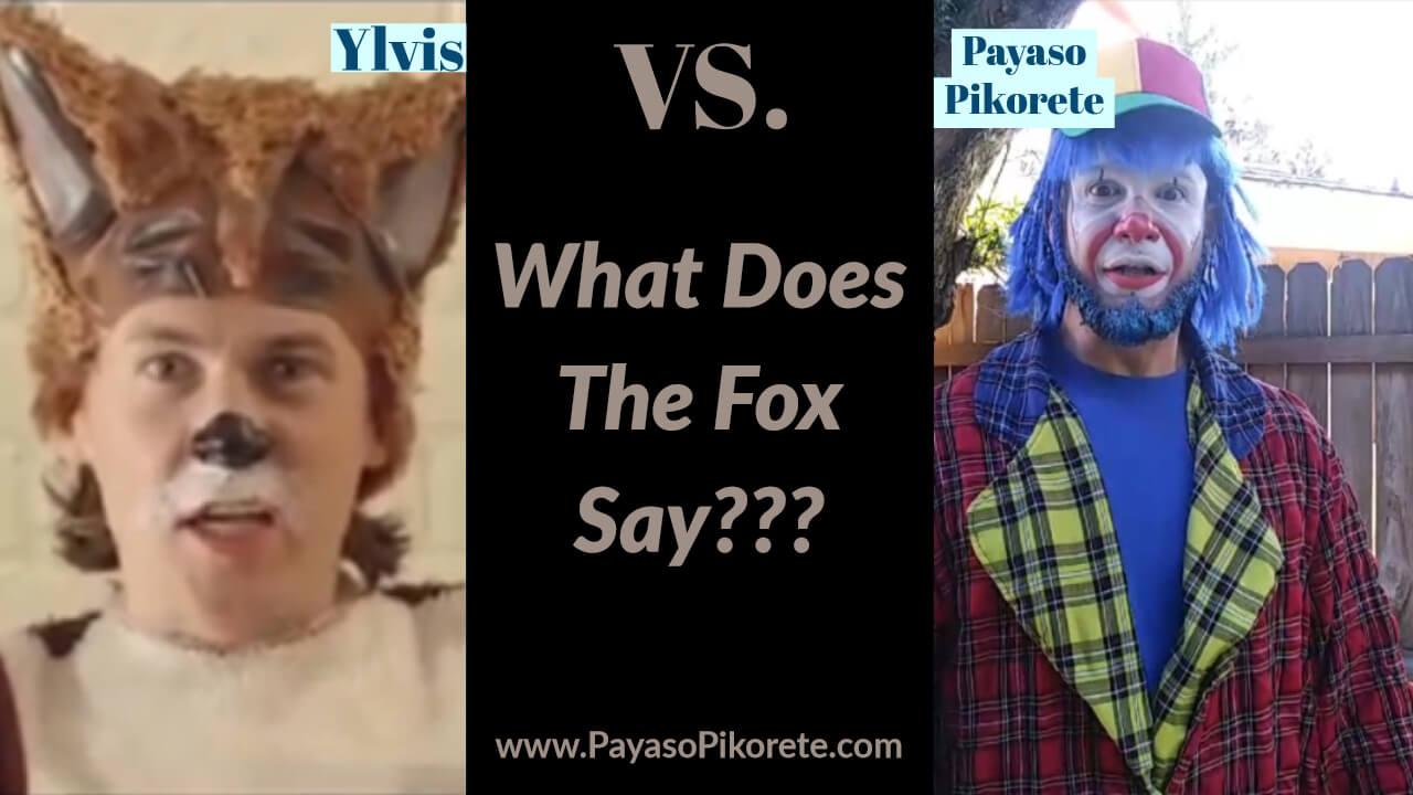 Payasito Pikorete Cantando What Does The Fox Say Kissimmee Florida