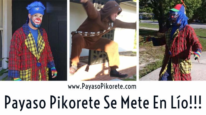 Payaso Pikorete Rompe Ventana En Algun Lugar En Orlando Fl