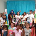 Pikorete celebrando cumpleaños Wes y emma Payaso en Saint Cloud Florida 2