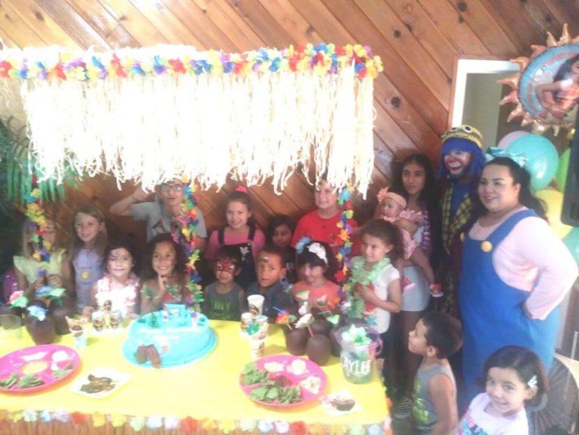 Payaso Pikorete Muñequita Pompita Cumpleaños Kaylee Winter Spring Florida 1 geo