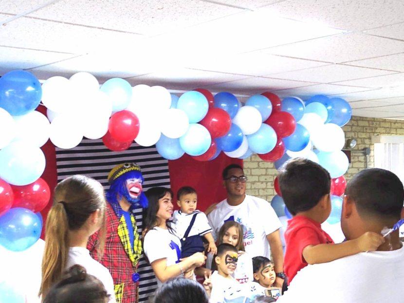 Payaso Pikorete y Muñequita Pompita en 1er Cumpleaños de Angel en Sebring Florida