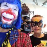 Payaso Pikorete Muñequita Pompita Cumpleaños Jaideliz Jacksonville Fl Face Paint Batman