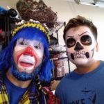 Payaso Pikorete Muñequita Pompita Cumpleaños Jaideliz Jacksonville Fl Face Paint Esqueleto