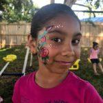 Muñequita Pompita Payaso Pikorete Cumpleaños Janaiya Winter Springs Fl Rosa Face Paint