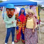 Cabezudos y Jibarita Payaso Pikorete 2do Festival Borinquen Killeen TX