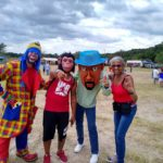 MC Monky Cabezudo Payaso Pikorete 2do Festival Borinquen Killeen TX