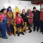 Payaso Pikorete Muñequita Pompita En Trono Corillo 1 Cumpleaños Patorazzi Plant City FL