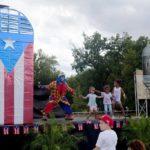 Payaso Pikorete en Tarima 2do Festival Borinquen Killeen TX