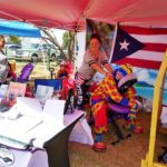 Rosa's Nature Healing Center Payaso Pikorete 2do Festival Borinquen Killeen TX
