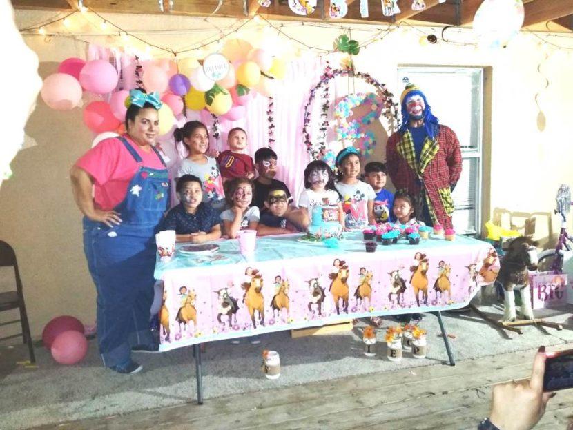 Muñequita Pompita Payaso Pikorete Orlando Fl Cumpleaños Sophie 2